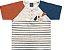 Camiseta Infantil Gola Careca Cachorrinho Cinza Kiko e Kika - Imagem 1