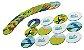 Brinquedo Educativo Bichos do Pantanal Jogo da Memória 24 peças - Imagem 3