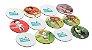 Brinquedos Educativos Folclore Brasileiro Jogo da Memória 24 peças - Imagem 2