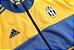 Kit treinamento oficial Adidas Juventus 2017 2018 Amarelo e azul - Imagem 4