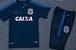 Kit pre jogo oficial Nike Corinthians 2017 Azul - Imagem 4