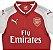 Camisa feminina oficial Puma Arsenal 2017 2018 I  - Imagem 7