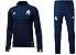 Kit treinamento oficial Adidas Olympique de Marseille 2017 2018 Azul Marinho - Imagem 1