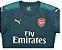 Camisa oficial Puma Arsenal 2017 2018 I goleiro - Imagem 2