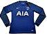 Camisa oficial Nike Tottenham 2017 2018 II jogador manga comprida - Imagem 1