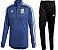Kit treinamento oficial Adidas seleção da Argentina 2018 Azul - Imagem 1