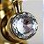 Torneira Misturador Monocomando Bica Baixa Dourado Crystal - Imagem 4
