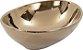 Cuba de Apoio Oval Rose Gold Lavabo 14x41x33cm - Imagem 1
