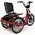 Triciclo Elétrico Duos Fox 800w 48v 15ah - Imagem 5