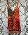 LHB Vestido Laranja Com Barra Em Babados  - Imagem 4