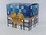 Caixinha para caneca Laço azul - pacote C/ 10un - Imagem 1