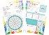 Planner 2022 Linha Aquarela  - COM ABAS de separação dos meses - Imagem 5