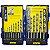 Jogo de Brocas Irwin Aço Rápido 1,5 a 10mm para Metal 15 Peças - Imagem 1
