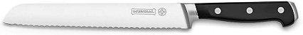 """Faca de Pão Mundial 8"""" 20cm Chef Kitchen 8821-8 - Preto - Imagem 1"""