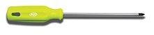 """Chave Phillips Japi Aço Cromo Vanádio 1/8X3"""" CP183 - Verde - Imagem 1"""