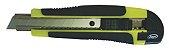 Estilete Japi Emborrachado 18mm EST18B - Verde - Imagem 1