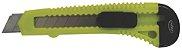 Estilete Japi Plástico 18mm EST18 - Verde - Imagem 1