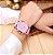 Relógio Numeral Romano para Mulheres  Pulseira de Couro - Imagem 1