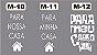 Adesivo Decorativo de Cofre 18x28 - Imagem 5