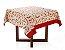 Toalha de Mesa Quadrada Pimenta Vermelha 140x140cm 4 lugares Karsten - Imagem 1