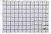 Jogo Americano Quadriculado Gourmet Branco e Preto Pano Urbano 50x35cm - Imagem 3