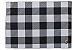 Jogo Americano Xadrez Gourmet Branco e Preto Pano Urbano 50x35cm - Imagem 3