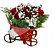 Bicicleta com Rosas - Imagem 1