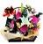 Cesta com Flores , Vinho e CIa. - Imagem 1