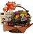 Cesta Flores e chocolates - Imagem 1