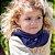 Gola Cachecol Azul Marinho close2u® Baby.&.kids - Imagem 2