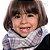 Gola Cachecol Xadrez Cinza close2u® Baby.&.kids - Imagem 2