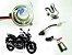 Kit Bixenon Bi Xenon Moto Slim Digital Hid H4 H6 6000k 8000k - Imagem 1
