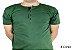 Camiseta Gola Portuguesa (Henley) Patê Colorido Modelo 3 Masculina com 4 Botões Manga Curta - Imagem 1