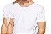 KIT com 2 Camisetas Gola Canoa Masculina Manga Curta - Imagem 1
