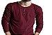 Camiseta Gola Portuguesa (Henley) Masculina com 4 Botões Limitadas Manga Longa - Imagem 2