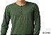 Camiseta Gola Portuguesa (Henley) Masculina com 4 Botões Mescladas Manga Longa - Imagem 1