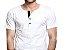 KIT com 3 Camisetas Gola Portuguesa (Henley) Patê Colorido Masculina com 4 Botões Manga Curta - Imagem 2