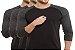 KIT com 3 Camisetas Gola Raglan Masculina Manga Longa - Imagem 1