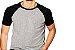 KIT com 3 Camisetas Gola Raglan Masculina Manga Curta - Imagem 4