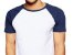 KIT com 3 Camisetas Gola Raglan Masculina Manga Curta - Imagem 2