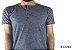 Camiseta Gola Portuguesa (Henley) Patê Colorido Modelo 4 Masculina com 4 Botões Manga Curta - Imagem 1