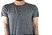 Camiseta Gola Portuguesa (Henley) Patê Colorido Modelo 4 Masculina com 4 Botões Manga Curta - Imagem 3