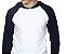 Camiseta Gola Raglan com Capuz Masculina Modelo 1 Manga Longa - Imagem 2