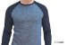 Camiseta Gola Raglan Masculina Modelo 4 Manga Longa  - Imagem 1
