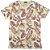Camiseta Gola Básica Masculina Folhagem Modelo 1 Manga Curta - Imagem 1