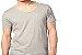 Camiseta Gola Canoa Masculina Manga Curta - Imagem 3