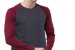 Camiseta Gola Raglan Masculina Modelo 3 Manga Longa  - Imagem 3