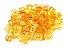 10 Unidades Anel Para Box Braids Tranças Jumbo Dreds Cabelo Dourado - Imagem 1