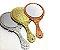 Espelho de Mão Prata Cílios Sobrancelha PRATA - Imagem 1