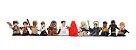 Coleção Completa Star Wars Micro Force Mini Figures Série 4 - 12 Miniaturas! - Imagem 2